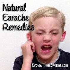 My husband gets earaches often :-/ Good ideas, we'll have to try them. Most earaches aren't infections, but a buildup of fluid behind the eardrum. It's easy and safe to encourage the fluid to drain with these natural remedies. Home Remedies For Earache, Home Health Remedies, Natural Health Remedies, Natural Cures, Cold Remedies, Natural Healing, Health And Beauty Tips, Health Tips, Health And Wellness
