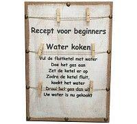 Memobord 41x59 cm - Water Koken