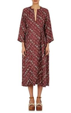 ISABEL MARANT Tizy Caftan. #isabelmarant #cloth #caftan