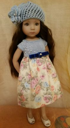 SUMMER outfit for Dianna Effner Little Darling 13