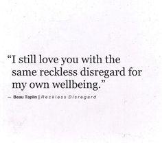 I do...
