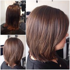 "31 Likes, 1 Comments - Léidi Granados (@leidi_like) on Instagram: ""| caramel | #beforeandafter #cut #caramel #dimension #foiled #hair #haircut #hairlove #hairstyle…"""
