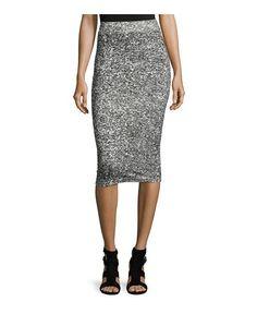 Cheap Monday Jersey Pencil Skirt, Dirty White - on #sale 42% off @ #LastCallByNeimanMarcus  #CheapMonday