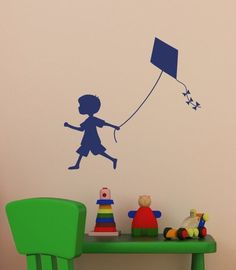 vintage flying kite silhouette - Google Search