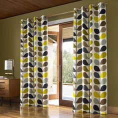 Buy Orla Kiely Multi Stem Pair Lined Eyelet Curtains, Duck Egg from our Ready Made Curtains & Voiles range at John Lewis & Partners. Free Delivery on orders over Duck Egg Curtains, Green Curtains, Hanging Curtains, Panel Curtains, Bedroom Curtains, Lounge Curtains, Bedroom Decor, Curtains Living, Master Bedroom