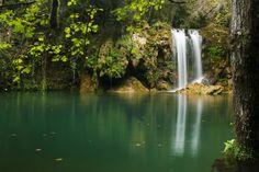 Cogolls, Gorg del Molí dels Murris la cascada secreta de la Garrotxa