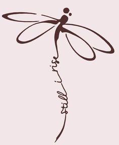 Tatoo 3d, 1 Tattoo, Body Art Tattoos, New Tattoos, Small Tattoos, Cool Tattoos, Dragonfly Tattoo Design, Dragonfly Art, Tattoo Designs