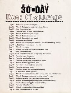 30 day challenge, ill start monday and skip the weekends