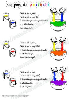 52 ideas music songs for kids classroom French Teaching Resources, Teaching French, How To Speak French, Learn French, French Poems, French Colors, French Expressions, Teaching Colors, French Classroom