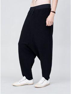OAK drop crotch sweatpant inside out