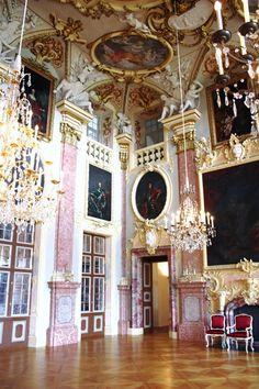 Schloss Rastatt (Rastatt Palace), Herrenstraße 18-20, 76437 Rastatt, Germany - www.castlesandmanorhouses.com