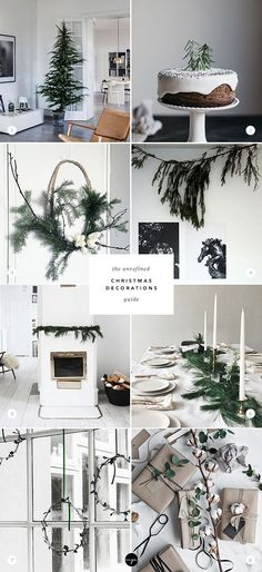 The unrefined Christmas decoration guide via My Paradissi Ideas on simple Christmas decor, minimalistic holiday decor Decoration Christmas, Noel Christmas, Green Christmas, Winter Christmas, Christmas Tree Decorations, Christmas Crafts, Christmas 2019, Elegant Christmas, Scandinavian Christmas Decorations