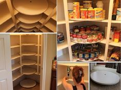 DIY Lazy Susan Pantry