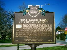 Alpha, OH (Greene County) - Ohio Historical Marker #21 - 29 on Alpha Rd.