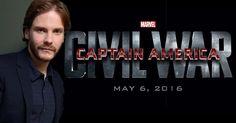 """L'attoreDaniel Brühlè stato aggiunto al cast di """"Captain America: Civil War"""", film Marvel Studios. Non ci sono ancora notizie - http://c4comic.it/2014/11/17/marvel-studios-daniel-bruhl-in-captain-america-civil-war/"""