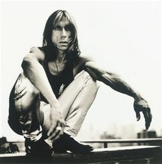 Anton Corbijn, Iggy Pop, 1995 Iggy Pop, Clint Eastwood, Portretfotografie, Miles Davis, Popmuziek, Zwart En Wit, Afbeeldingen, Depeche Mode, Banden