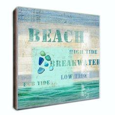 beach decor artwork BEACH