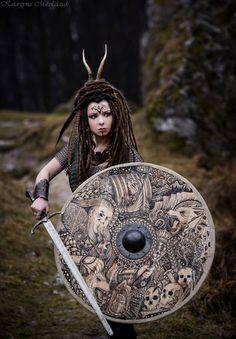 niiv: Shield- Black Forest ForgePhoto- Katarzyna Mikołajczak PhotographyModel- Savra