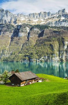 Lake Walensee, Switzerland