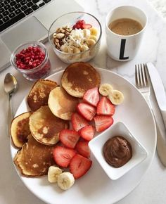 food_drink - Easy Healthy Breakfast Ideas & Recipe to Start Excited Day Think Food, I Love Food, Good Food, Yummy Food, Delicious Meals, Fun Food, Comidas Fitness, Tumblr Food, Healthy Breakfast Recipes