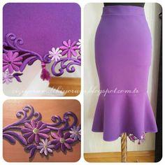 Bir İngilizce Öğretmeninin Tasarım Atölyesi BİR BALIK ETEK DAHA:) (ONE MORE A FISH SKIRT :)) #sewing #dikiş #sewingpatterns #balıketek #etek #etekler #skirt #skirts