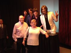 2014.03.06  Bill and Cheryl with the Beatles Las Vegas, NV.