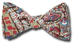 Liberty of London Browns Bourton Paisley Bow Tie