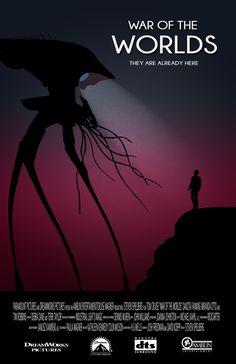 Poster de la película War of the Worlds