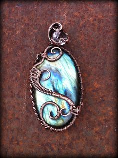 Reiki Charged OOAK Labradorite and Diamond Quartz Amulet by Gypsy Peacock Jewelry http://www.etsy.com/listing/99782356/ooak-reiki-charged-labradorite-and?ref=pr_shop