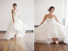 Tul y Flores · Inspiración para tu boda: Zapatillas de ballet para la novia