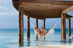 I want one of those hammocks, and I want that to be my backyard!! :-)