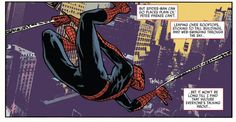 Web-slinging in Amazing Spider-Man #1.3