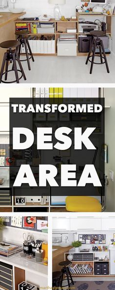 """When he moved in to his apartment three years ago, stylist Scott Horne entered into a classic design conundrum: how to make the most of a very awkward space. The built-in """"office"""" adjacent to his kitchen was a half step up from dorm-room milk crates, jury-rigged from plywood shelves, and a shallow desktop. Lacking inspiration, he soon let it become a dumping ground for papers, supplies, and magazines. """"The idea of fixing it felt overwhelming,"""" Scott says. """"I needed someone to take the wheel."""""""