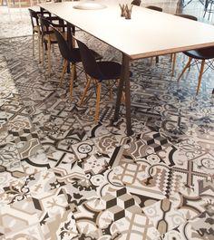 Pavimento/rivestimento in gres porcellanato HANDCRAFT by INALCO - INDUSTRIAS ALCORENSES CONFEDERADAS design Inalco