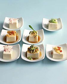 chilled tofu, Japanese-style / Martha Stewart
