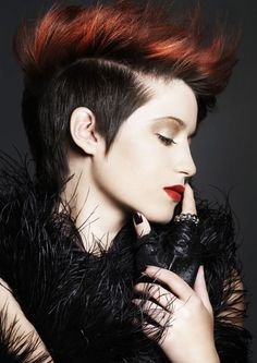 sophie_lomas_haircut-for-modren-punk-hairstyle