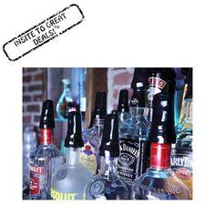 https://www.amazon.com/dp/B01FYBAMJS  12 Liquor Bottle Universal Pour Spout Dust Cap Cover (Black)  SAVE 25% OFF