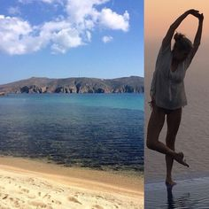 May Yoga retreat #Panormos #Mykonos #yogaheaven www.elisawilliamsyoga.com/yoga-in-Mykonos