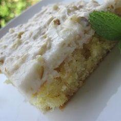White Texas Sheet Cake Allrecipes.com