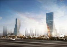 Harbin Towers by Spatial Practice (Harbin, Haxi District, China)