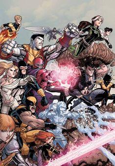 X-Men by Nick Bradshaw