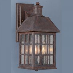 Elstead Lighting Chapel Mini 1 Light Outdoor Semi Flush Wall