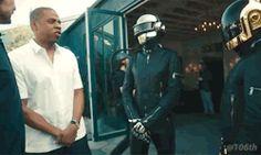 gif gifs jay z jay-z Daft Punk Tidal