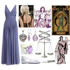 """Dike (Goddess of Justice)"" by lilacmayn on Polyvore"