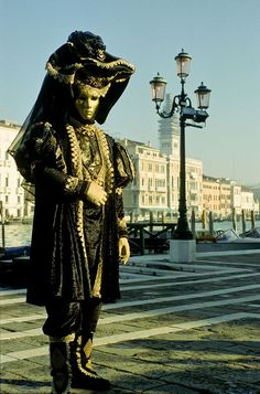 Carnival of Venice 2014 Venezia Veneto back and gold at the Doge's Palace
