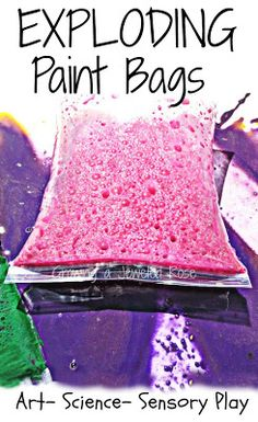 Exploding paint bags ~ Growing a Jeweled Rose