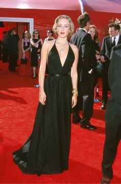 For Sale on - Iconic black glazed cotton halter dress by Alber Elbaz for Yves Saint Laurent. This design was worn by Chloe Sevigny Sexy Dresses, Nice Dresses, Evening Dresses, Prom Dresses, Wearing Dresses, Halter Dresses, Bridesmaid Dresses, Formal Dresses, Chloe Sevigny