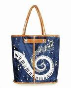 Buy Keyboard Tote Bag | Music Apparel | Music Accessory | Music Bag | Music Tote | -