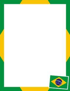 Borda da bandeira do Brasil