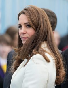 Catherine, Duchess of Cambridge visits the new HQ of Ben Ainslie Racing on 12.02.2015 in Portsmouth, England.